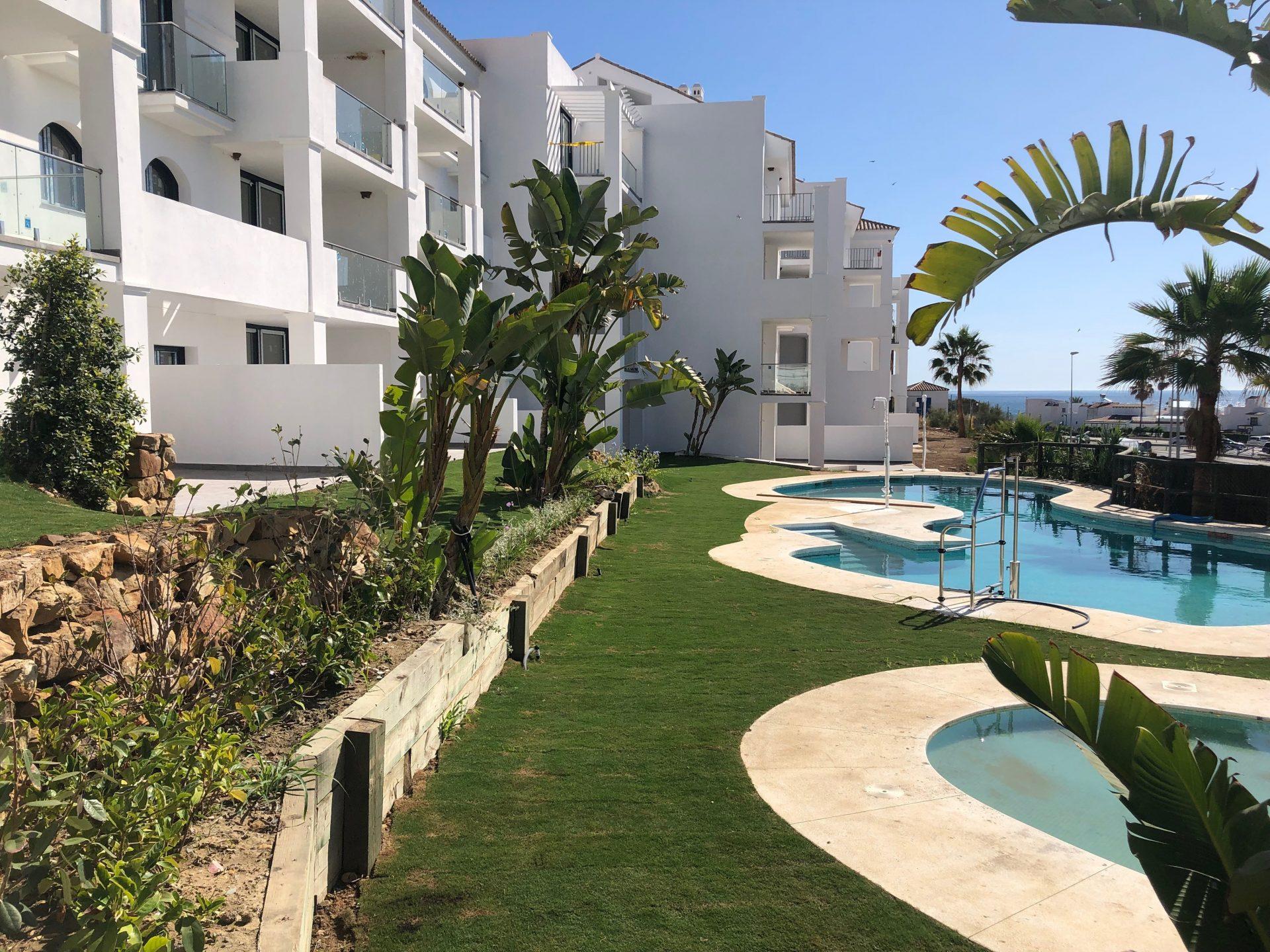 manilva pisos vistas piscina 2 altecnic promotora constructora